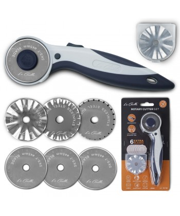 Set Cutter Rotativo + 6 Cuchillas